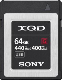 Sony G-Series R440/W400 XQD Card 64GB (QD-G64F)