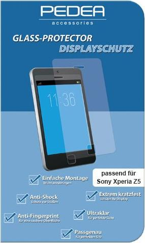 Pedea Glass Protector für Sony Xperia Z5 (11470041) -- via Amazon Partnerprogramm