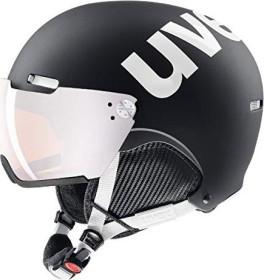 UVEX Hlmt 500 Visor Helm black/white mat