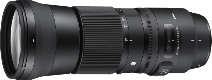 Sigma Contemporary AF 150-600mm 5.0-6.3 DG OS HSM inkl. 1.4x Telekonverter für Canon EF schwarz