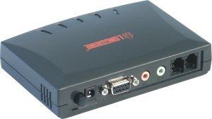 Longshine LCS-8560VA-A V.92 modem, zewn., port szeregowy