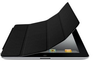 Apple iPad 2 leather Smart Cover black (MD301ZM/A)