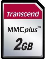 Transcend MultiMedia Card (MMCplus) Plus 2GB (TS2GMMC4)