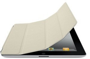 Apple iPad 2 leather Smart Cover beige (MD305ZM/A)