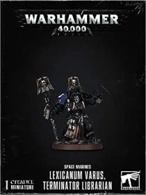 Games Workshop Warhammer 40.000 - Space Marines - Lexicanum Varus, Terminator Librarian (99120101269)
