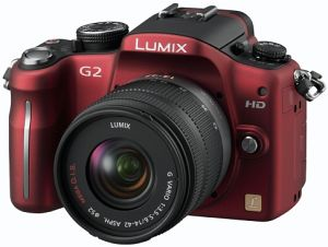 Panasonic Lumix DMC-G2 red body