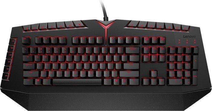 Lenovo Y Gaming Mechanical Keyboard, Kailh RED, USB, DE (GX30J76024)