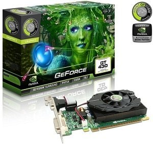 Point of View GeForce GT 430, 2GB DDR3 900MHz, 64bit, VGA, DVI, HDMI (VGA-430-C2-2048)