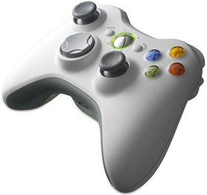Microsoft Xbox 360 X360 Wireless Controller für Windows, weiß (PC/Xbox 360) (JR9-00002)