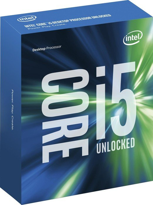 Intel Core i5-6600K, 4x 3.50GHz, boxed without cooler (BX80662I56600K)