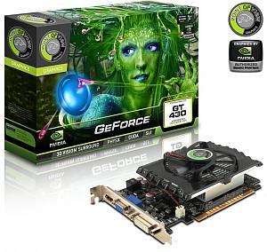 Point of View GeForce GT 430 (533MHz), 2GB DDR3, VGA, DVI, HDMI (VGA-430-C1-2048)