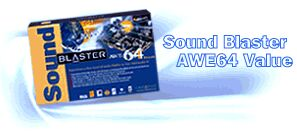 Creative Sound Blaster AWE-64 Value Edition