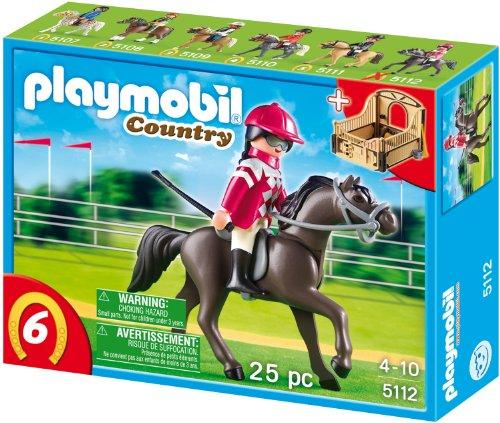 playmobil Country - Araber mit braun-gelber Pferdebox (5112) -- via Amazon Partnerprogramm