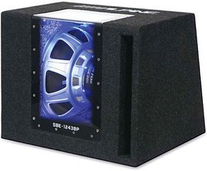 Alpine SBE-1243BP bandpass enclosure