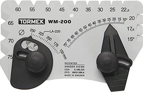Sets den perfekten Winkel zum Sch/ärfen Klingen Winkel Setter f/ür Sch/ärfen System Tormek wm-200/Winkel Master Funktioniert auf Tormek Sch/ärfen Systeme.
