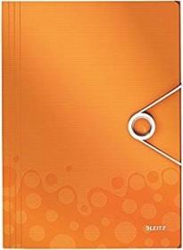 Leitz WOW Eckspannermappe A4, 150 Blatt, orange (45990044)