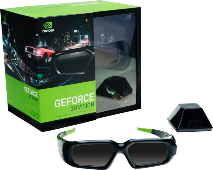 NVIDIA GeForce 3D Vision, wireless kit (942-10701-0005-100/942-10701-0005-401)