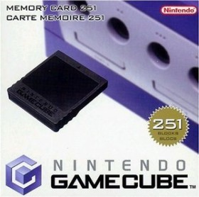 Nintendo Gamecube Memory Card 251 16MB (GC)