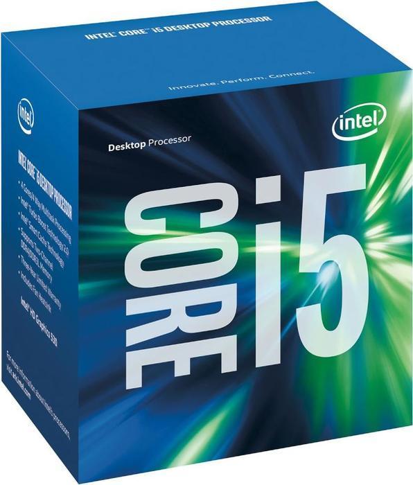Intel Core i5-6600, 4x 3.30GHz, boxed (BX80662I56600)