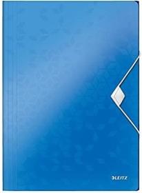 Leitz WOW Eckspannermappe A4, 150 Blatt, blau (45990036)