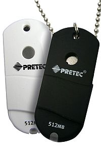 Pretec i-Disk Wave black 4GB, USB-A 2.0 (W2U04G)