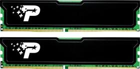 Patriot signature Line black cooler DIMM kit 16GB, DDR4-2666, CL19-19-19-43 (PSD416G2666KH)