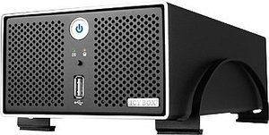 RaidSonic Icy Box IB-NAS4220-B, USB 2.0/LAN (42200)