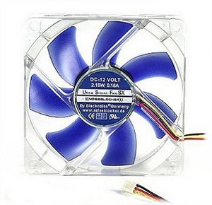 Noiseblocker NB-UltraSilentFan SX1 bulk, 120mm