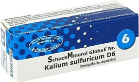 Schuck Schuckmineral globules 6 potassium sulfuricum D6, 7.5g