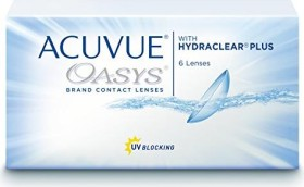 Johnson & Johnson Acuvue Oasys for Astigmatism, -9.00 Dioptrien, 6er-Pack