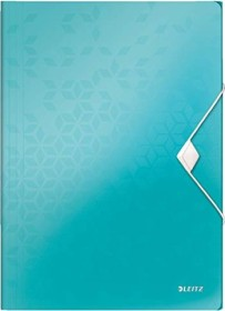 Leitz WOW Eckspannermappe A4, 150 Blatt, eisblau (45990051)