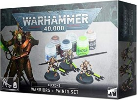 Games Workshop Warhammer 40.000 - Necrons - Krieger + Farbset (99170110005)