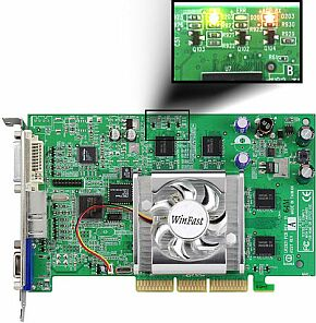 Leadtek WinFast A180 DDR TDH MyVIVO, GeForce4 MX440-8X, 64MB DDR, DVI, VIVO, AGP