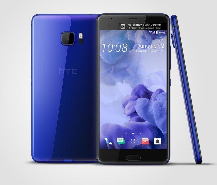 HTC U Ultra blau