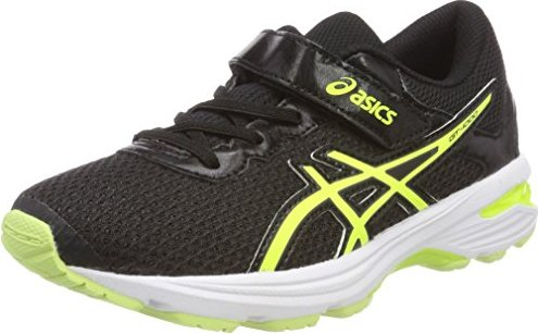 Asics GT-1000 6 GS black/safety yellow/white (Junior) (C740N-9007)