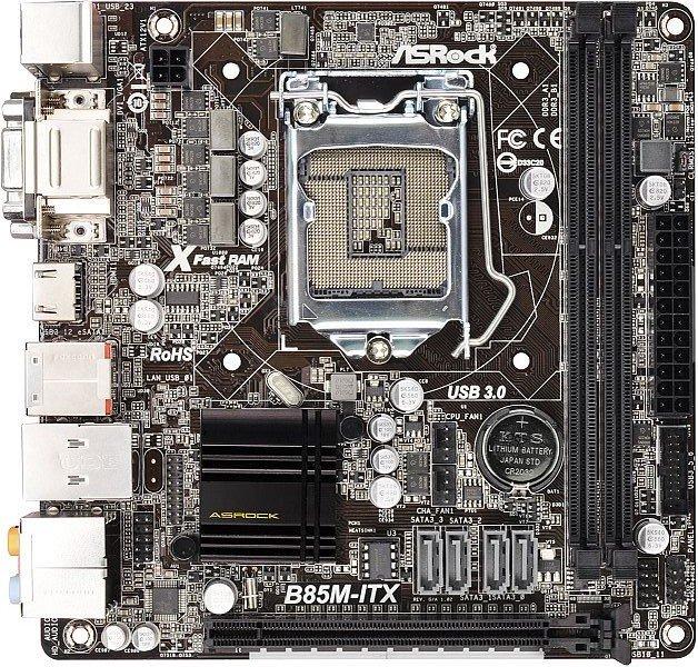 ASRock B85M-ITX (90-MXGPM0-A0UAYZ)
