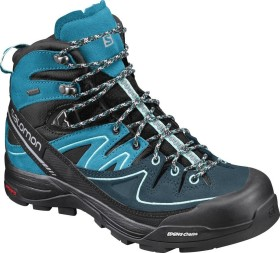 Salomon X Alp mid LTR GTX black/hawaiian ocean/aruba blue (ladies) (394702)