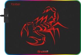 Marvo Scorpion MG08 RGB Gaming mousepad M black/red (MA-MG08)
