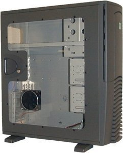 Chieftec SPX-02B-F side panel with large side panel window black for all models of the X series