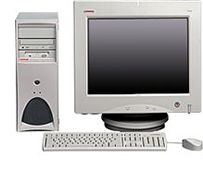 HP Compaq Deskpro Workstation AP230, P III 1.0GHz, 256MB, Win2K (various types)