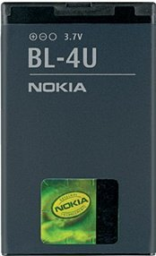 Nokia BL-4U rechargeable battery (02703G7)