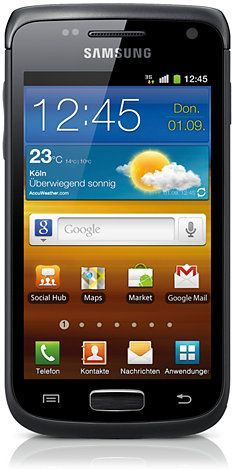 Samsung Galaxy W I8150 black