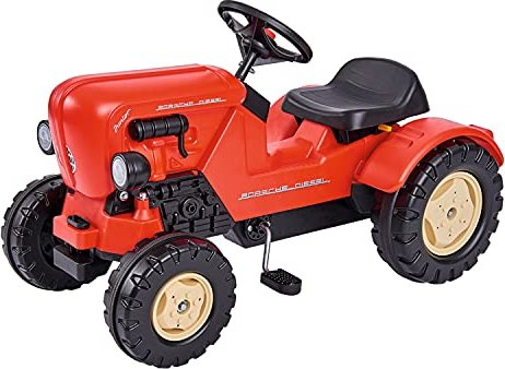 BIG Porsche Diesel Junior Pedal-Tractor (800056560) -- via Amazon Partnerprogramm