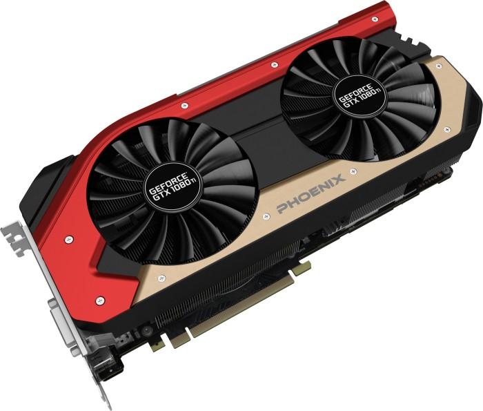 Gainward GeForce GTX 1080 Ti Phoenix, 11GB GDDR5X, DVI, HDMI, 3x DisplayPort (3941)