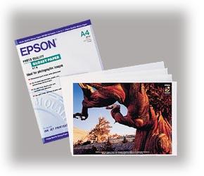 Epson S041126 Fotopapier A4, 141g, 20 Blatt