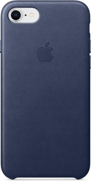 Apple Leder Case für iPhone 8 mitternachtsblau (MQH82ZM/A)