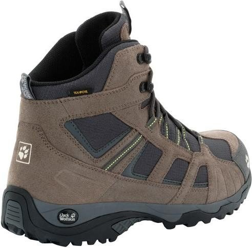 e85d5050df5 Jack Wolfskin Vojo Hike mid Texapore flashing green (men)