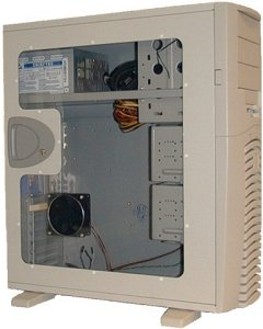 Chieftec SPX-02W-F side panel with large side panel window white for all models of the X series