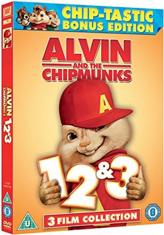 Alvin and the Chipmunks 1-3 (UK) -- via Amazon Partnerprogramm