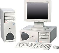 HP Compaq Deskpro Workstation AP250, P III 1.0GHz, 256MB, Win2K (various types)